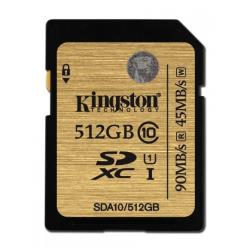 KINGSTON 512GB SDXC CLASS 10 UHS-I