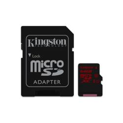 KINGSTON 64GB MICROSD CLASS3 U3 90R/80W