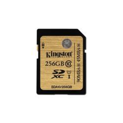 KINGSTON 256GB SDXC CLASS 10 UHS-I 90R/45W