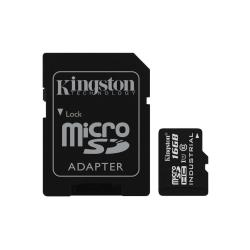 Kingston - tarjeta de memoria flash - 16 GB - microSDHC UHS-I