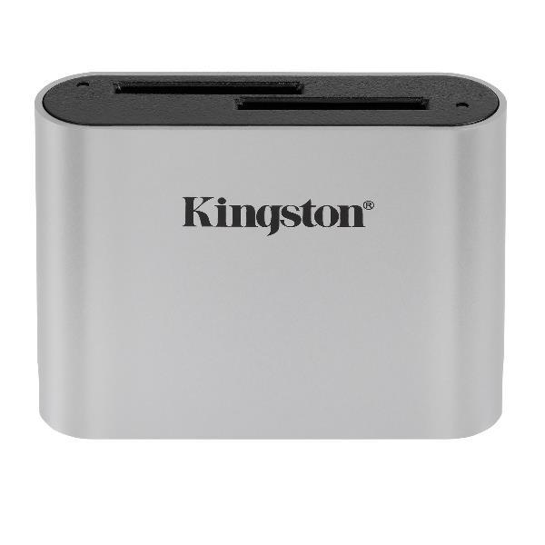 Kingston Workflow - lector de tarjetas - USB-C 3.2 Gen 1