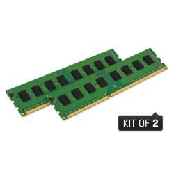 KINGSTON 8GB 1600MHZ DDR3  DIMM  KIT OF 2