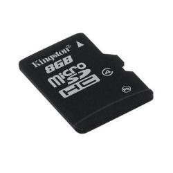 KINGSTON MICRO SD 8GB CLASE 4 NO ADAP