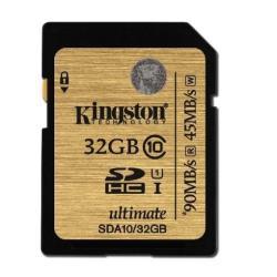 KINGSTON TARJETA SD 32GB SDHC CLASE 10 UHS-I