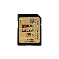 KINGSTON 128GB SDXC CLASS 10 UHS-I ULTIMATE