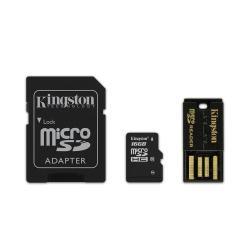 KINGSTON MICRO SD 16GB CLASE 10 MULTI KIT
