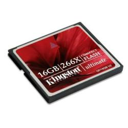 KINGSTON TARJETA COMPACT FLASH 16GB 266X