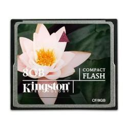 KINGSTON 8GB COMPACTFLASH CARD
