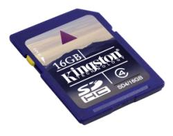KINGSTON SDHC 16GB CLASE 4 (4MB/S)