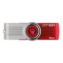 KINGSTON PENDRIVE 8GB USB 2.0 ROJO DT101G2