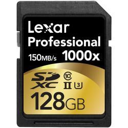 LEXAR TARJETA SD 128GB CLASE10 1000X UHS2