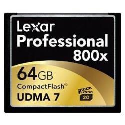 LEXAR 64GB 800X PROFESSIONAL CF