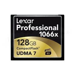 LEXAR TARJ MEM PRO CF 128GB RB EU 1066X