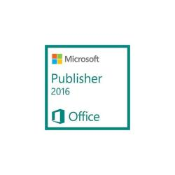 Microsoft Publisher - licencia y Software Assurance - 1 PC
