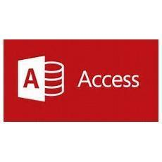 Microsoft Access - licencia y Software Assurance - 1 PC
