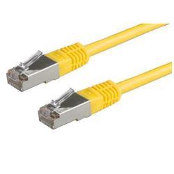 NILOX CABLE RED 0.5M FTP 5E BULK AMARILLO