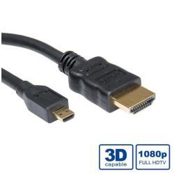NILOX CABLE HDMI A-MICRO HDMI 2 METROS