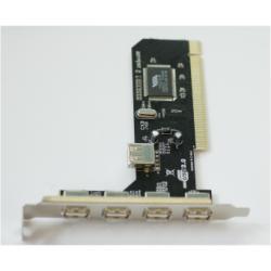 NILOX TARJETA PCI 4 1 PUERTO USB 2.0