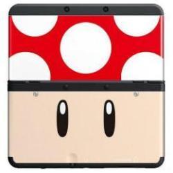 NINTENDO NEW 3DS CUBIERTA TOAD ROJA