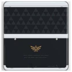 NINTENDO NEW 3DS CUBIERTA ZELDA TRIFORCE
