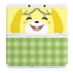 NINTENDO NEW 3DS CUBIERTA ANIMAL CROSSING CANELA