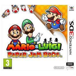NINTENDO 3DS MARIO   LUIGI PAPER JAM BROS