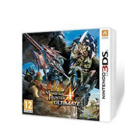 NINTENDO 3DS ZELDA MONSTER HUNTER 4 ULTIMATE