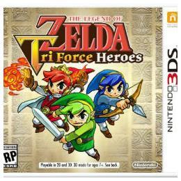 NEW NINTENDO 3DS LEGEND OF ZELDA TRIFORCE HEROES