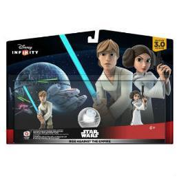 NINTENDO D INF 3 STAR WARS PLAY SET EPISODIO IV-VI RISE AGAINST THE EMPIRE