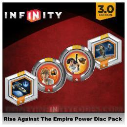 NINTENDO D.I. 3 STAR WARS RISE AGAINST EMPIRE POWER DISCS