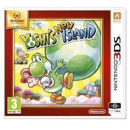 NINTENDO 3DS SELECTS YOSHIS NEW ISLAND