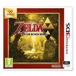 NINTENDO 3DS SELECTS ZELDA LINK BETWEEN WORL