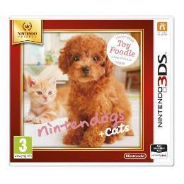 3DS SELECTS NINTENDOGS GATOS CANICH