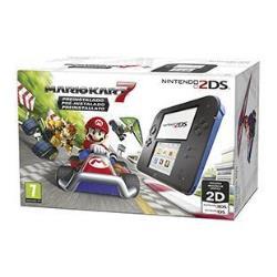 Nintendo 2DS - videoconsola portátil - negro, azul