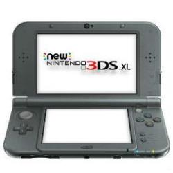 NINTENDO NEW 3DS XL NEGRO METALICO