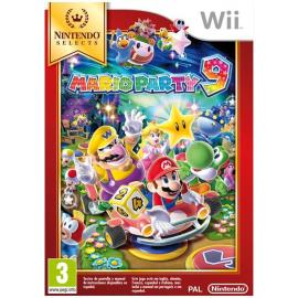 NINTENDO WII MARIO PARTY 9 NIN SELECTS