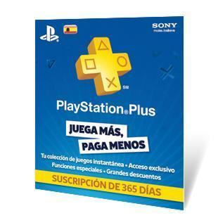 SONY PLAYSTATION PLUS CARD 365 DAYS