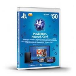SONY PLAYSTATION LIVE CARDS 50(NUEVO)