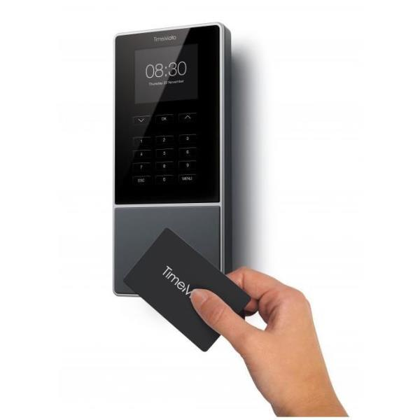 SAFESCAN TM616 Controlador presencia,terminal+soft.Fichaje tarjeta/llavero/PIN.Hasta 200user.1250585