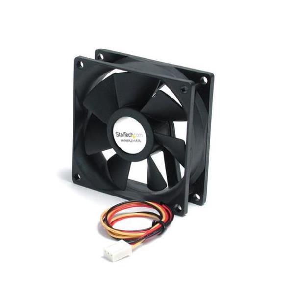StarTech.com Ventilador de Repuesto con Rodamiento de Bolas para Disipador de Procesador o Caja Chasis Ordenador - 80mmx25mm - TX3 kit de ventilador d