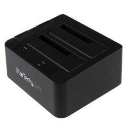 StarTech.com Base de Conexión USB 3.1 (10Gbps) con UAS de 2 Bahías para Disco Duro o SSD SATA de 2,5 o 3,5 Pulgadas - controlador de almacenamiento -