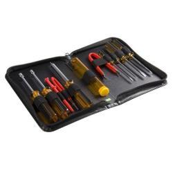 StarTech.com Juego Kit Set de Reparación Herramientas Ordenadores PC 11 piezas con Estuche - Torx Phillips Plano - Extractor de Chips Kit de herramien