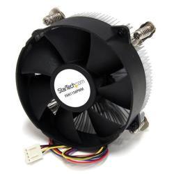 StarTech.com Ventilador Fan con Disipador de Calor para CPU Procesador Socket LGA1156/1155 Intel Core i3/i5/i7- 95mm - PWN disipador para procesador