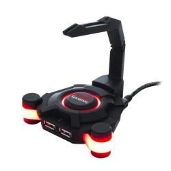 TACENS MMS1 MOUSE-CABLE BUNGEE   HUB USBX4