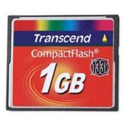 TRANSCEND TARJETA COMPACT FLASH 1GB 133X