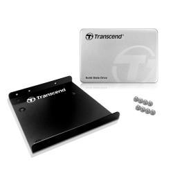 TRANSCEND SSD 128GB SATA3 2.5  370 CARCA ALUM