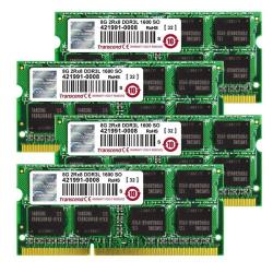 TRANSCEND 32GB SO-DIMM KIT 2013 8GBX4