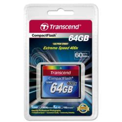 TRANSCEND 64GB CF CARD (400X)
