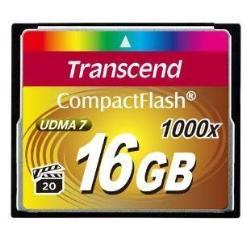 TRANSCEND 16GB CF CARD (1000X)