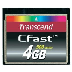 TRANSCEND 4GB INDUSTRIAL CFAST  SLC